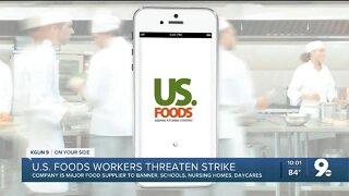 Teamsters threaten strike against U.S. Foods