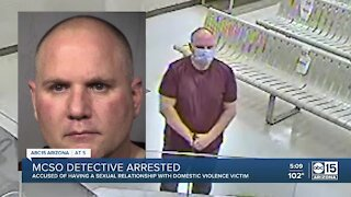 MCSO detective arrested, acccused of sexual relationship with domestic violence victim