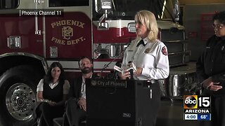 Phoenix fire chief diagnosed with breast cancer