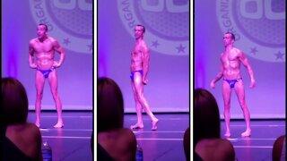 Bodybuilder Steve Alexy overcoming Cerebral Palsy