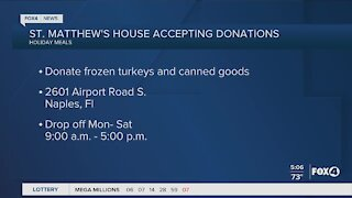 St. Matthews House accepting donations