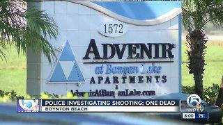 1 dead in Boynton Beach shooting Saturday morning