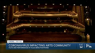 Arts Industry at Standstill Amid Coronavirus Crisis