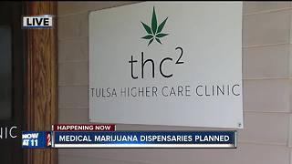 Medical marijuana dispensaries planned in Tulsa