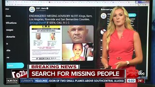Search for missing at-risk girl