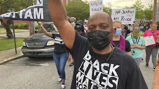 Demonstrators Demand Transparency In Brown Killing