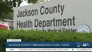 Jackson County immunization clinic traveling to schools