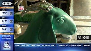 Tampa Bay artists raise awareness on human trafficking through Project Goat