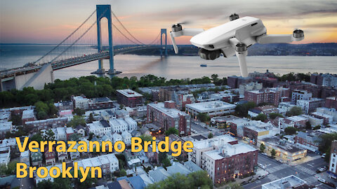 Verrazano Bridge fly over