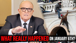 WHAT REALLY HAPPENED On January 6th?   Rudy Giuliani   Ep. 101