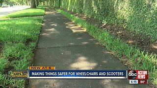 Study: People using wheelchairs, motorized scooters have trouble getting around Hillsborough County