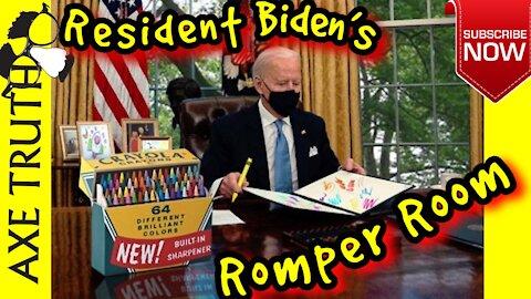 Wacky Wednesday - Resident Biden's Romper Room