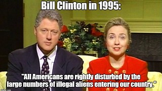 Bill Clinton: All Americans are rightly disturbed by illegal immigration