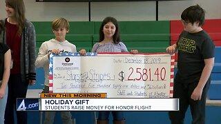 Elementary students raise money for veterans Honor Flight