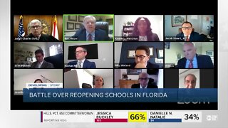Florida Education Association school re-opening lawsuit case continues after failed mediation
