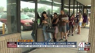 Kansans struggle to renew driver's licenses