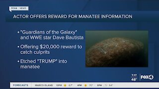 Guardians of the Galaxy actor offers reward for animal cruelty