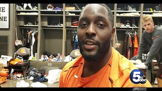 During National Suicide Prevention Week, Browns' Hubbard fights for mental health awareness