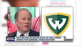 Mayor Mike Duggan welcomes Inspector General investigation
