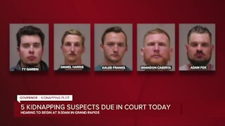 5 suspects in Whitmer kidnapping plot due in court Tuesday