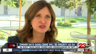 Zimmer says gang crime will be a priority as District Attorney