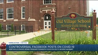 Parents sound off about social media posts shared by Northville Public Schools Board president