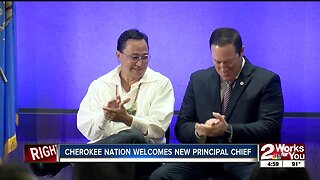 Cherokee Nation welcomes new principal chief