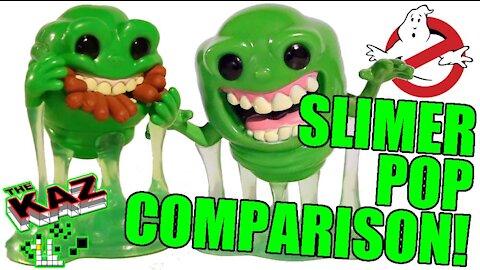 Slimer Funko Pop Comparison
