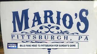 Bills fans travel to Pittsburgh