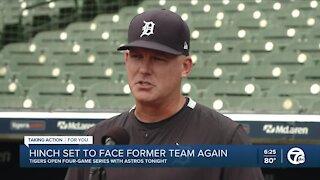 Hinch talks similarities between managing Astros, Tigers