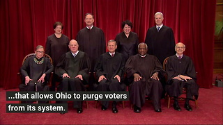 Supreme Court Upholds Ohio Voter Purges