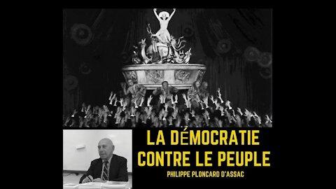 La démocratie contre le peuple