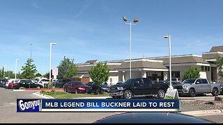 Bill Buckner laid to rest during memorial service Saturday