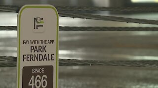 Touchless parking structure opens in Ferndale