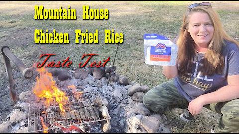 Mountain House Chicken Fried Rice ~ Taste Test