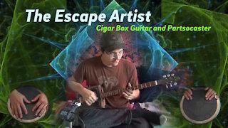 The Escape Artist - Cigar Box Guitar and Partsocaster