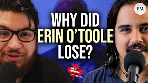 O'Toole and Trudeau both big election LOSERS