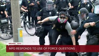 Milwaukee Police Department responds to viral video of protester arrest