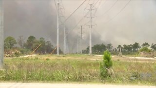 Indian River County wildfire