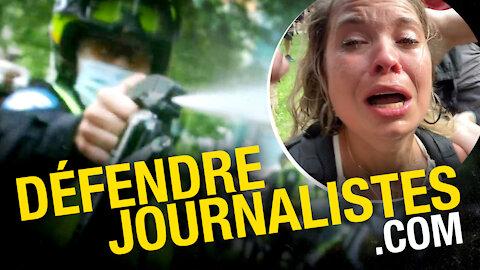 Nous poursuivons la police de Montréal pour avoir agressé un autre journaliste de Rebel News