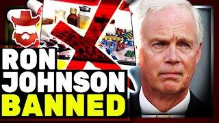 "Youtube BANS US Senator Ron Johnson Over ""Misinformation"""