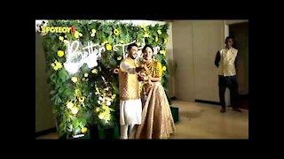 Gauahar Khan Doesn't Let Zaid Darbar Show His Mehendi, Says 'It's Personal' | SpotboyE