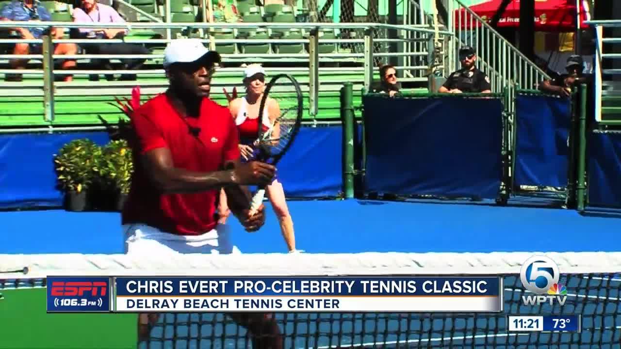 Chris Evert Pro-Celebrity Tennis Event