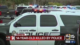 Teen who had replica gun shot and killed by Tempe police