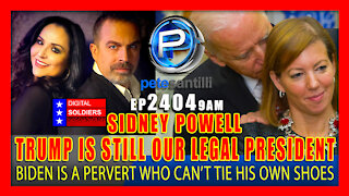 EP 2404 9AM Sidney Powell: President Trump Is Still Our Legal President