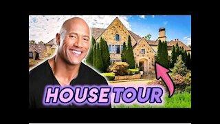 """Dwayne """"the rock"""" Johnson house tour"""