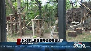 Reid Park Zoo participates in Plastic free challenge