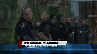 TPD hosts annual memorial to honor fallen officers