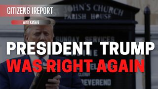 President Trump was RIGHT AGAIN AGAIN!