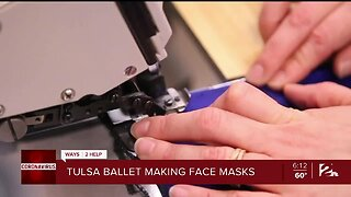 Ways 2 Help: Tulsa Ballet Makes Masks for Healthcare Workers